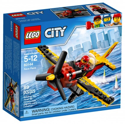 Nouveau LEGO City 60144 Race Plane 2017