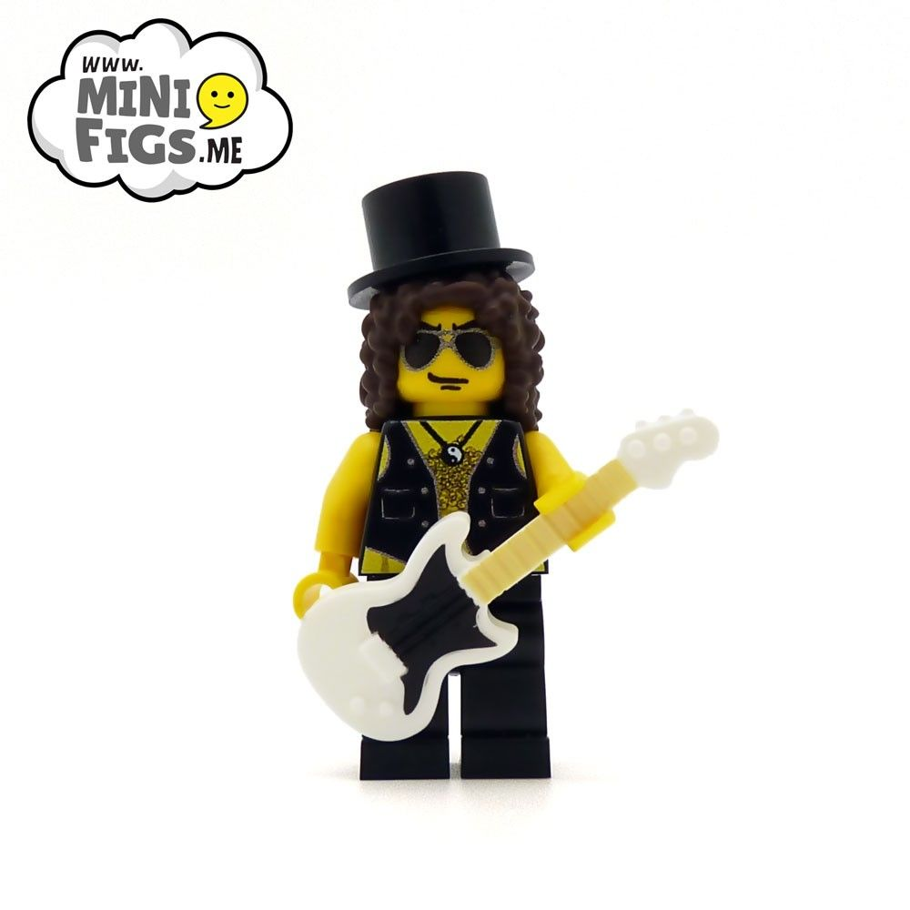Minifigurine LEGO Slash - Guns'n'Roses