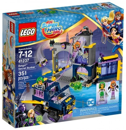 Nouveau LEGO DC Super Hero Girls 71237 Le Bunker secret de Batgirl Juin 2017