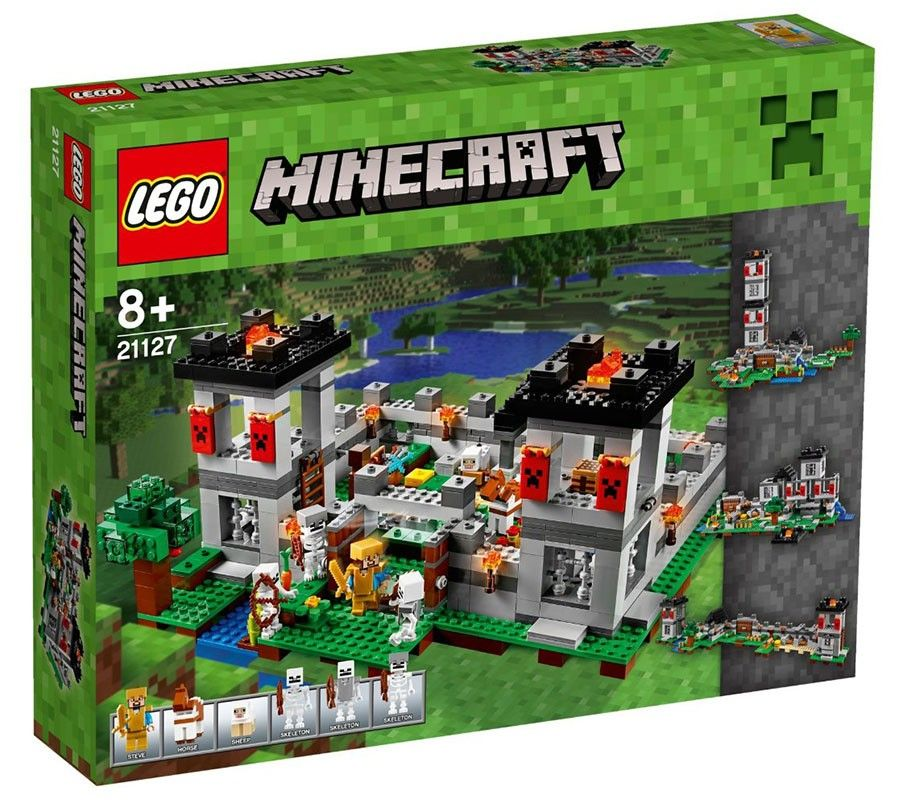 LEGO Minecraft 21127 - La Forteresse - Photo 1