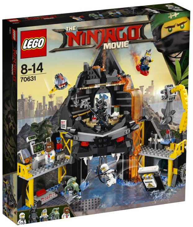 LEGO The Ninjago Movie 70631 Garmadon's Volcano Lair