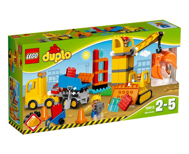 LEGO Duplo Big Construction Site - 10813 - Photo 1
