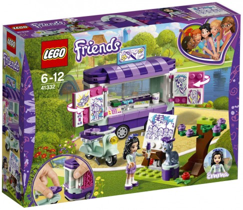 Nouveau LEGO Friends 41332 Emma's Art Stand 2018