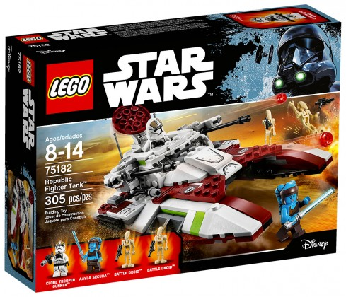 Nouveau LEGO Star Wars 75182 Republic Fighter Tank Juin 2017