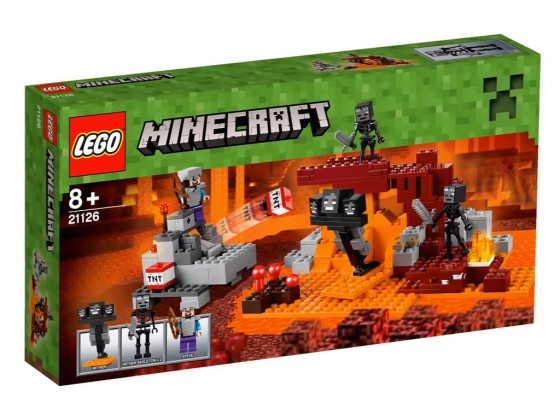 LEGO Minecraft Le Wither