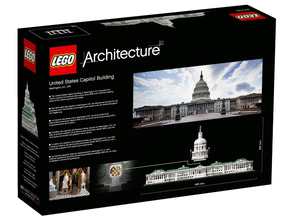 LEGO Architecture 21030 - United States Capitol Building - PHOTO 2