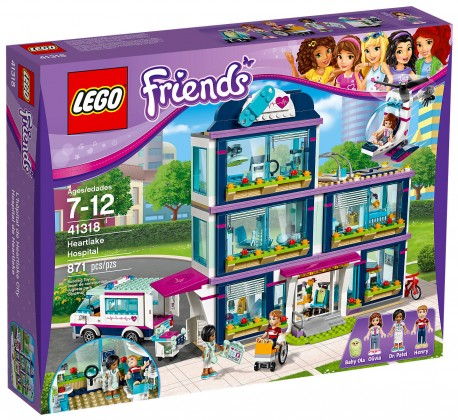 Nouveau LEGO Friends 41318 L'hôpital d'Heartlake City Juin 2017
