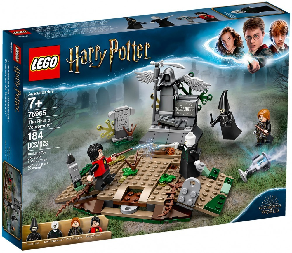 Nouveau LEGO Harry Potter 75965 La résurrection de Voldemort