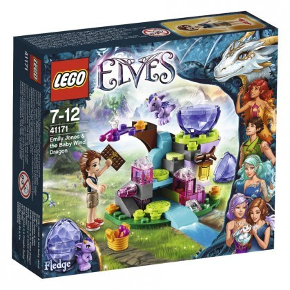LEGO Elves Emily Jones et le bébé dragon