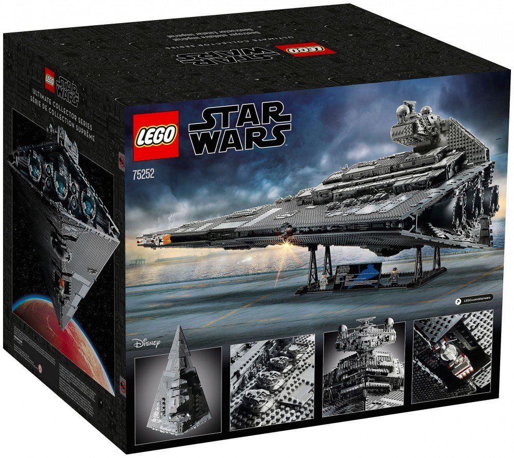 Nouveau LEGO Star Wars 75252 Imperial Star Destroyer UCS