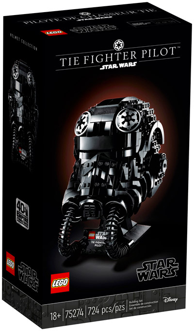 LEGO Star Wars 75274 Le casque de pilote de TIE-Fighter
