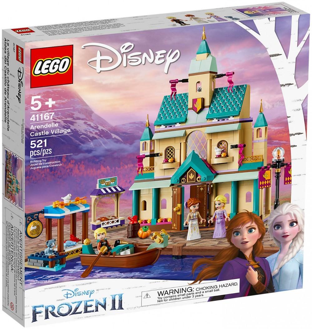 Nouveau LEGO Disney 41167 Le château d'Arendelle