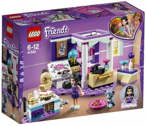Nouveau LEGO Friends 41342 Emma's Bedroom 2018
