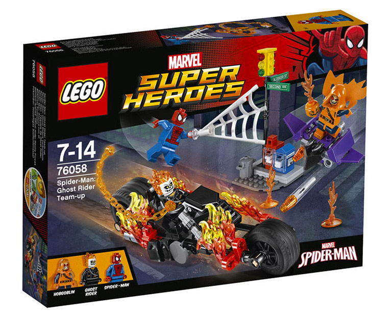 LEGO Marvel Super Heroes  76058 - Spider-Man: Ghost Rider Team-Up - Photo 1