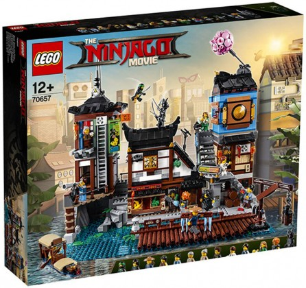 Nouveau LEGO Ninjago 70657 City Docks 2018