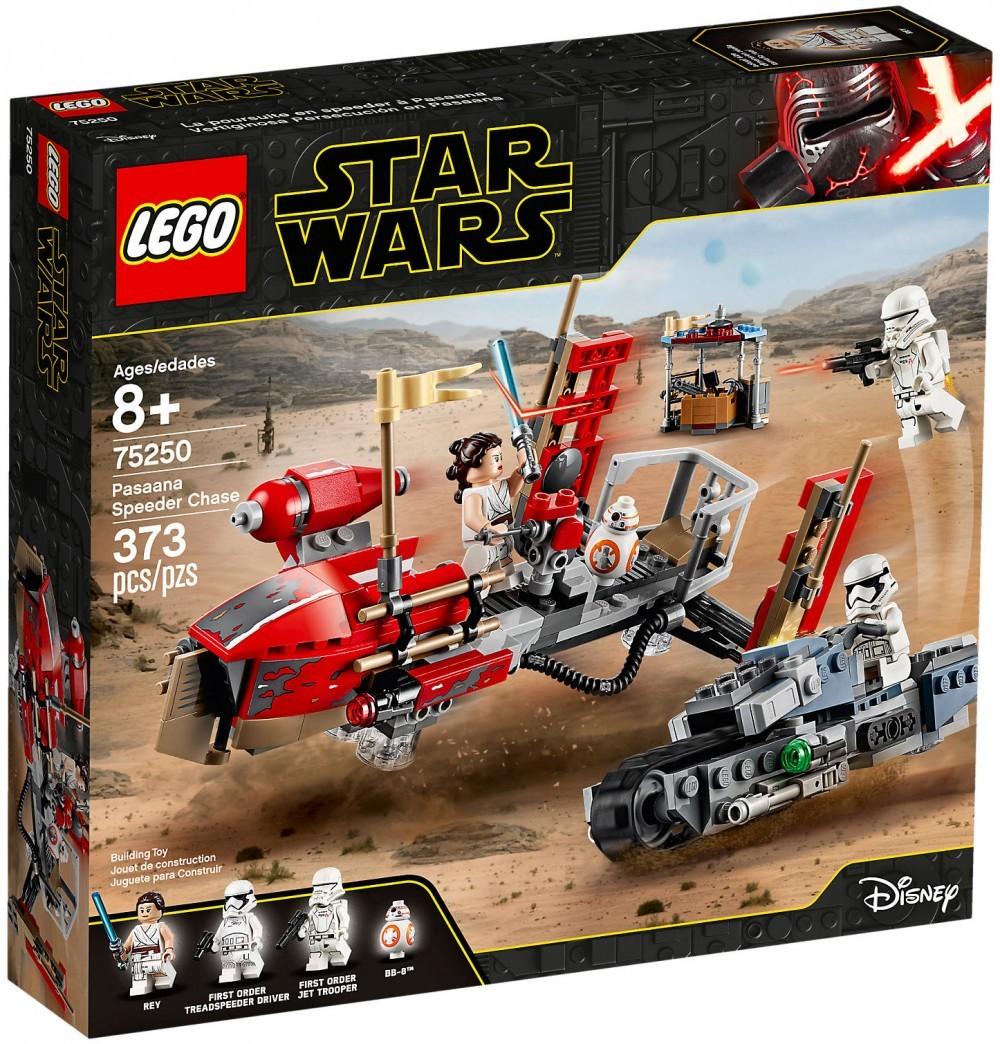 Nouveau LEGO Star Wars 75250 La course-poursuite en speeder sur Pasaana