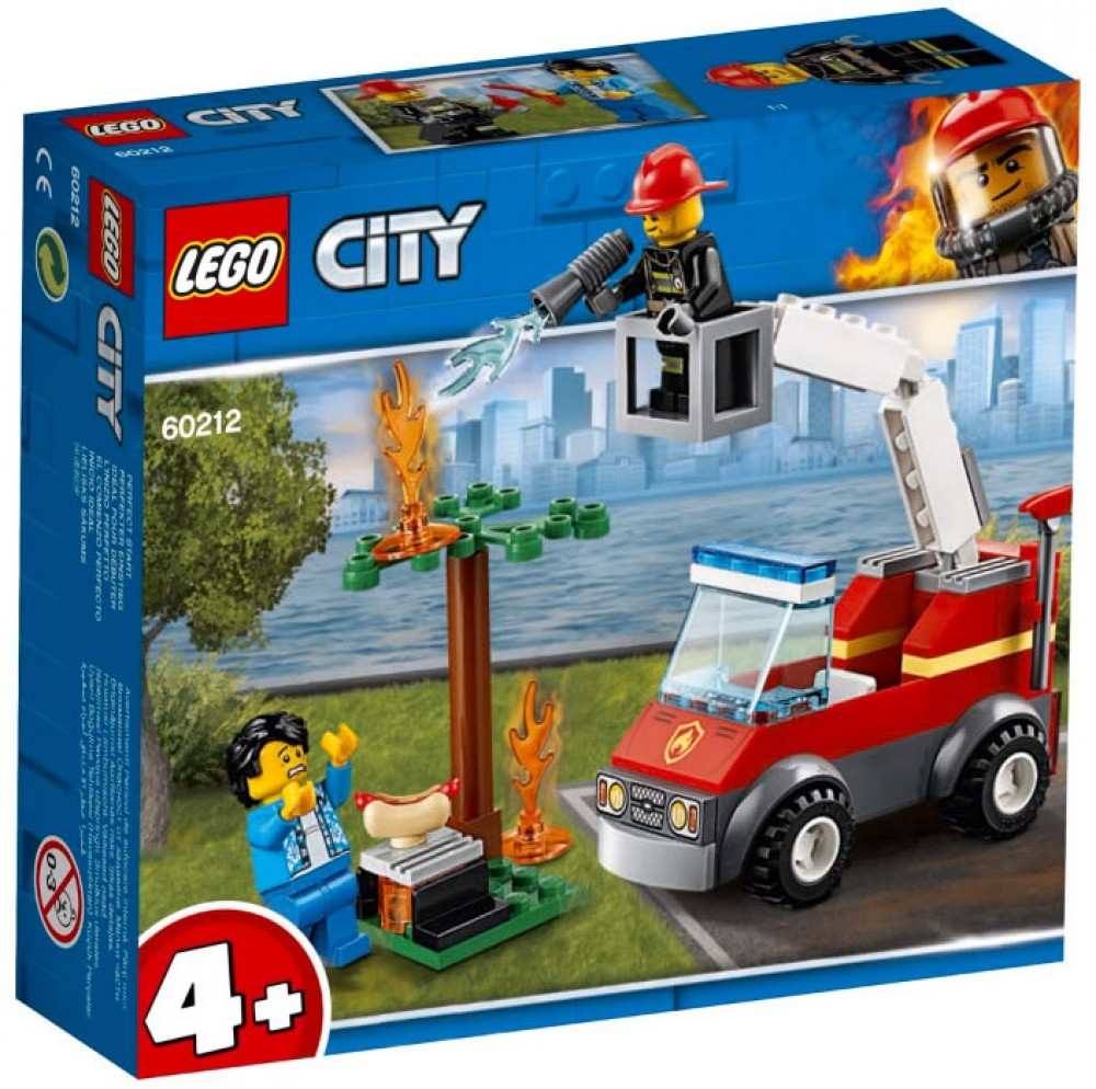 Nouveau LEGO City 60212 Barbecue Burn Out 2019