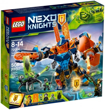 Nouveau LEGO Nexo Knights 72004 Tech Wizard Showdown 2018