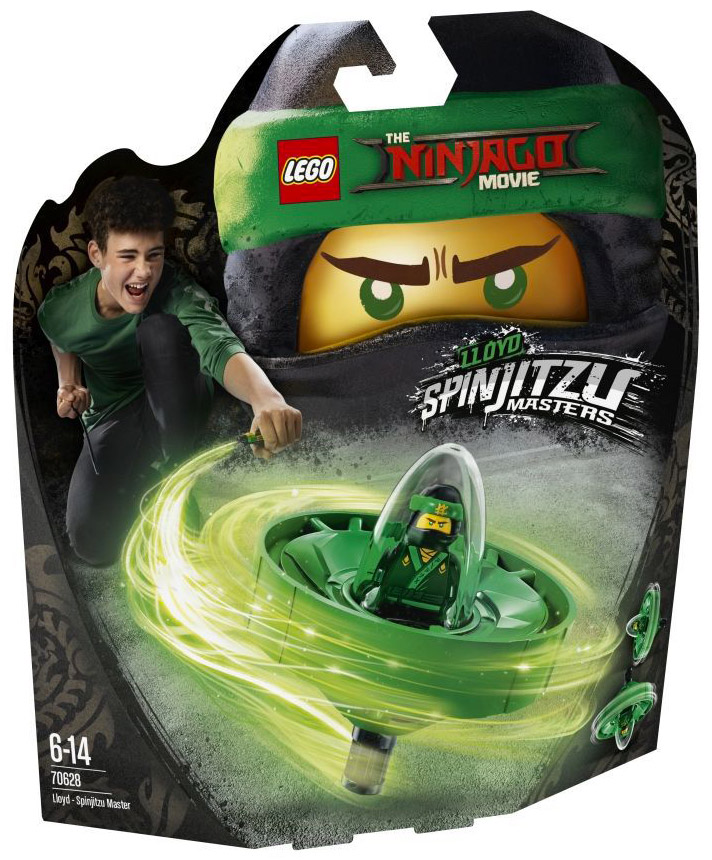 LEGO The Ninjago Movie 70628 Spinjitzu Master : Lloyd Garmadon