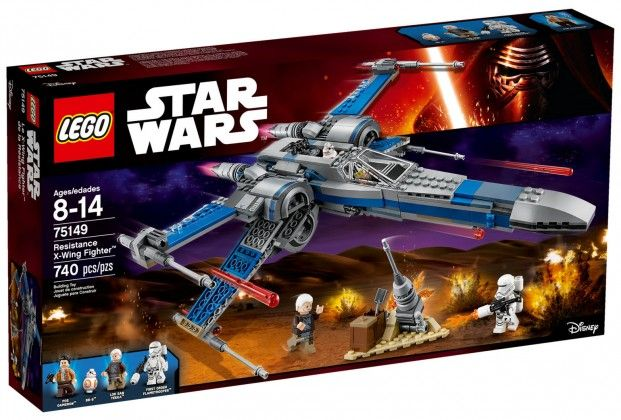 LEGO Star Wars 75149 - X-Wing Fighter de la Résistance