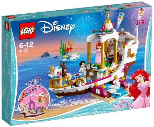 Nouveau LEGO Disney 41153 Ariel's Royal Celebration Boat 2018