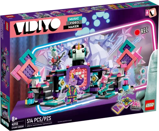 Nouveau LEGO VIDIYO 43113 K-Pawp Concert // Juin 2021