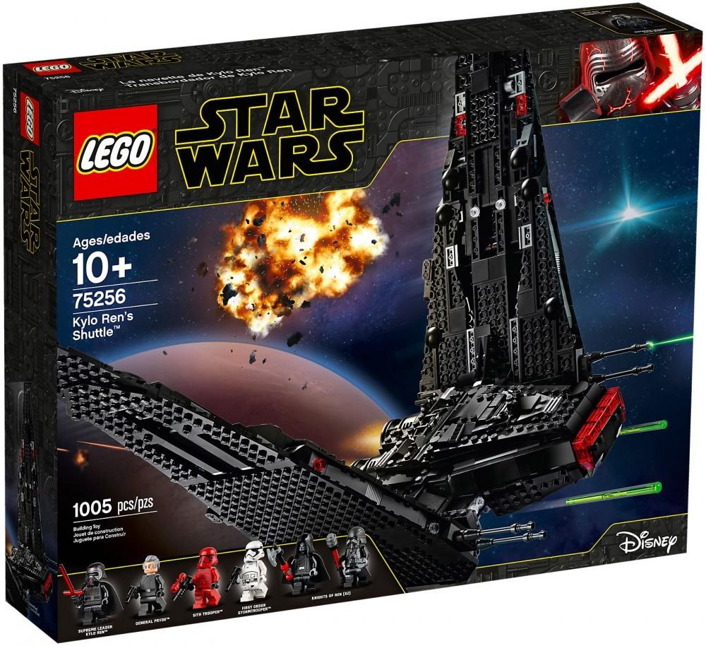Nouveau LEGO Star Wars 75256 La navette de Kylo Ren
