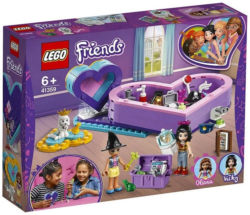 Nouveau LEGO Friends 41359 Heart Box Friendship Pack 2019
