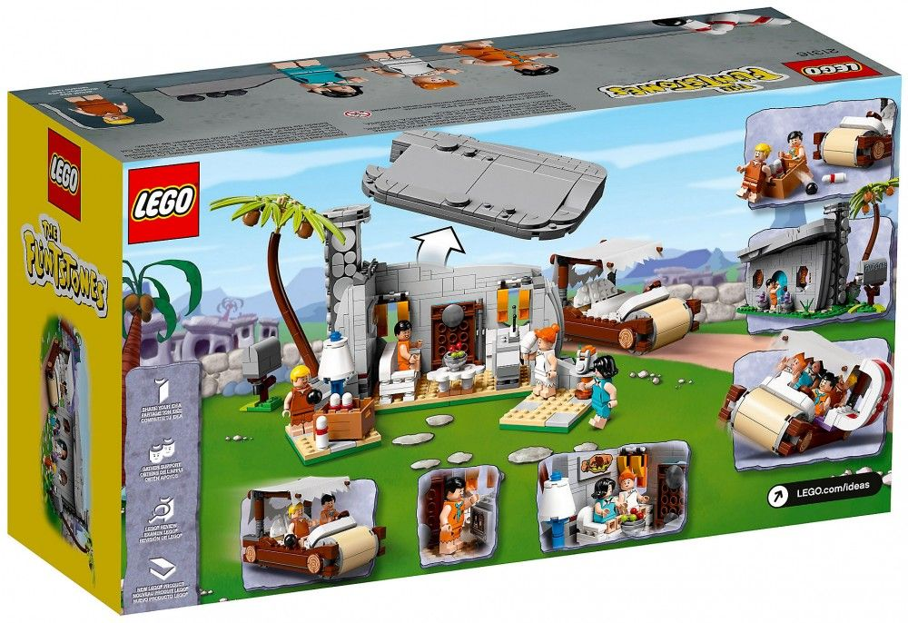 Nouveau LEGO Ideas 21316 The Flintstones