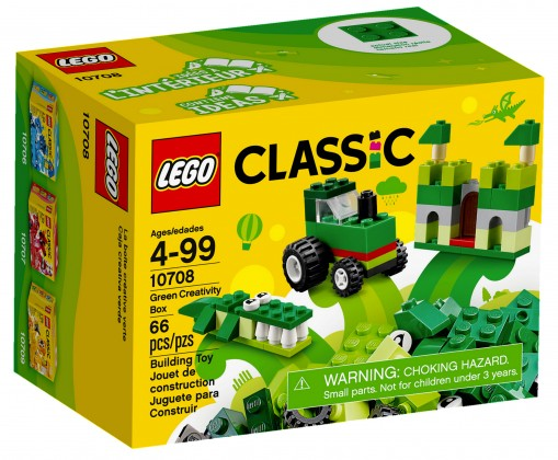Nouveau LEGO Classic 10708 Green Creativity Box 2017