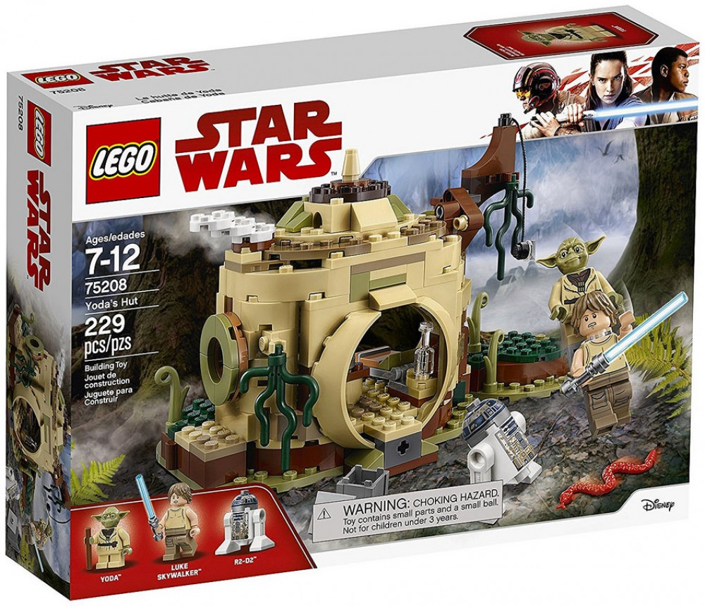 Nouveau LEGO Star Wars 75208 Yoda's Hut 2018
