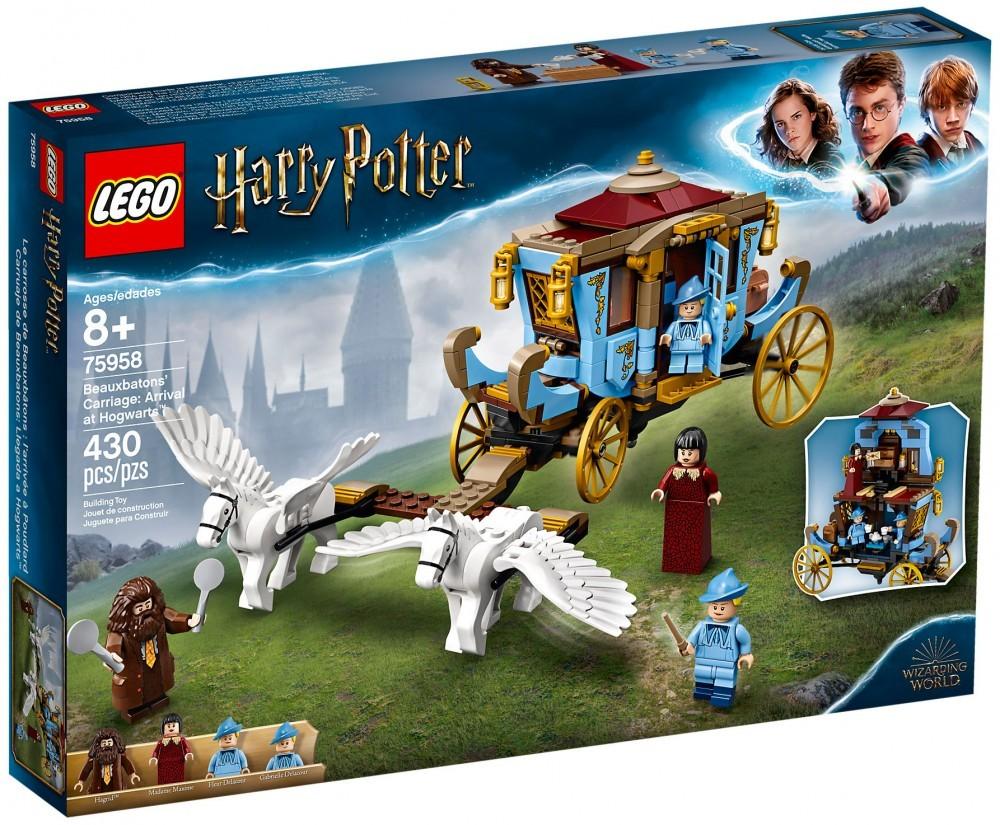 Nouveau LEGO Harry Potter 75958 Le carrosse de Beauxbâtons : l'arrivée à Poudlard