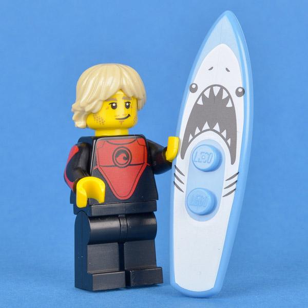 NEW LEGO MINIFIGURES SERIES 17 71018 Pro Surfer