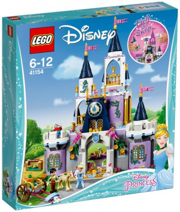 Nouveau LEGO Disney 41154 Cinderella's Dream Castle 2018
