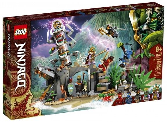 Nouveau LEGO NINJAGO 71747  The Keeper's Village // Mars 2021