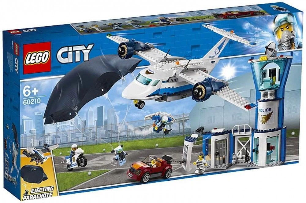 Nouveau LEGO City 60210 Sky Police Air Base 2019