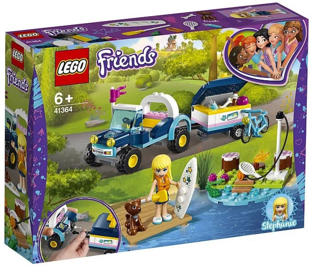 Nouveau LEGO Friends 41364 Stephanie's Buggy & Trailer 2019