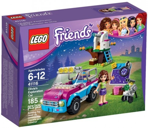 LEGO Friends 41116 - La voiture d'exploration d'Olivia