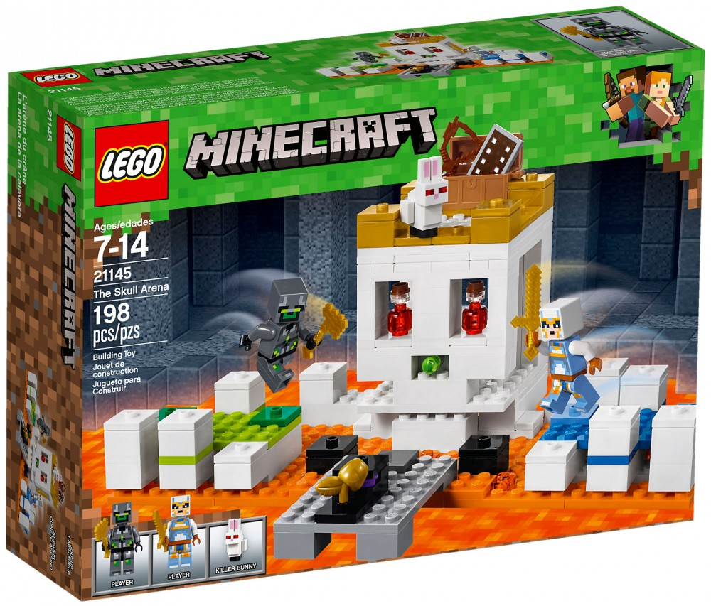 Nouveau LEGO Minecraft 21145 The Skull Arena 2018