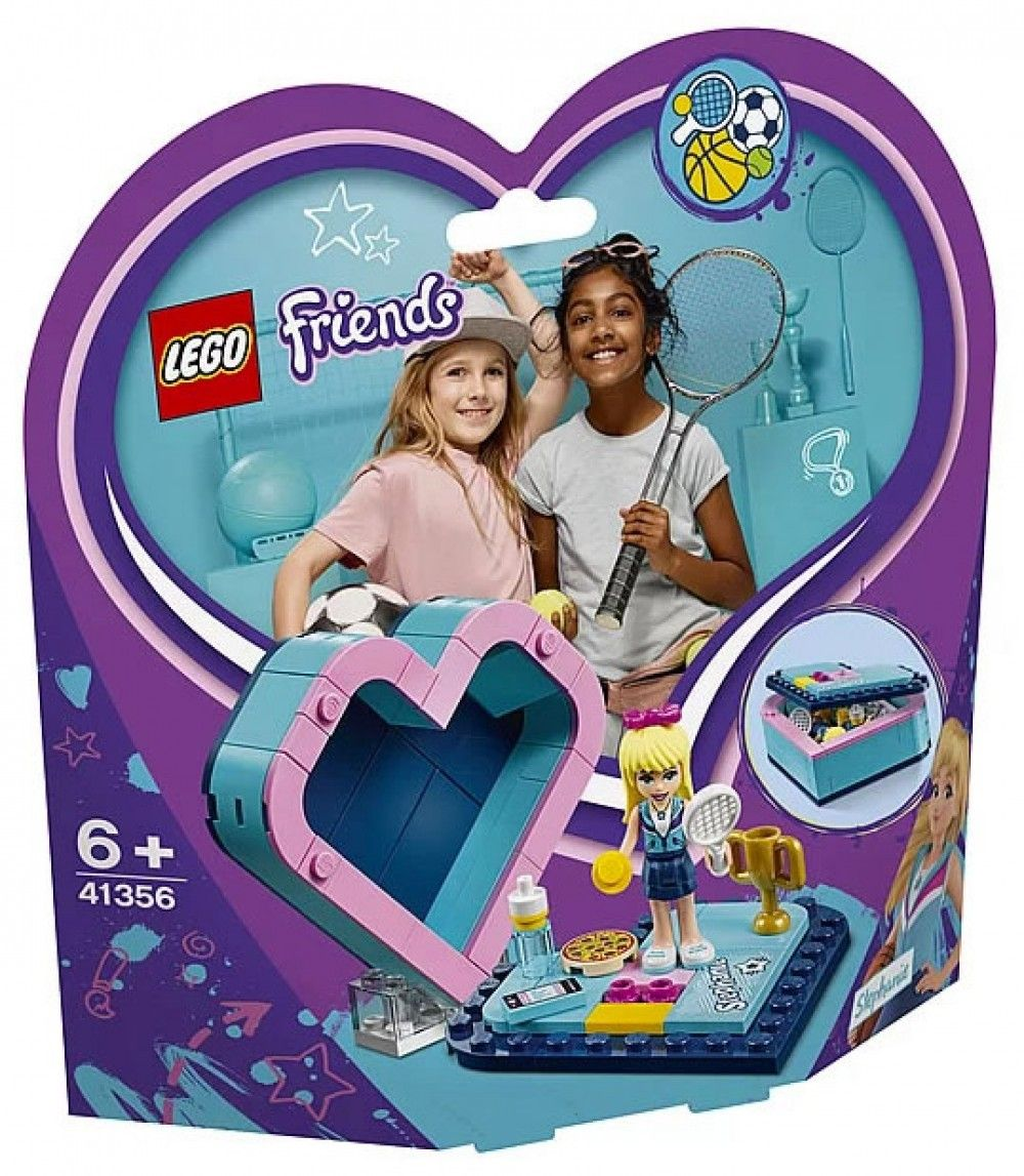 Nouveau LEGO Friends 41356 Stephanie's Heart Box 2019