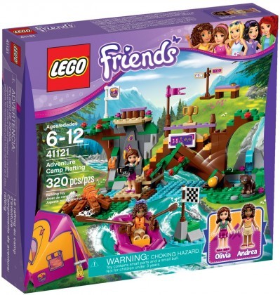 LEGO Friends 41121 - Rafting à la base d'aventure