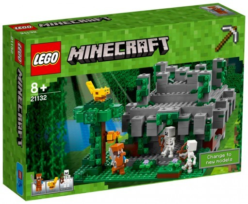 Nouveau LEGO Minecraft 21132 Jungle Temple 2017