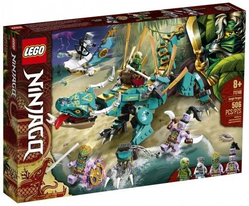 Nouveau LEGO NINJAGO 71746 Jungle Dragon // Mars 2021