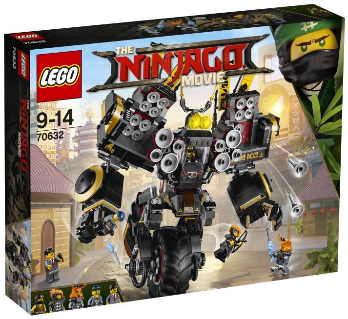LEGO The Ninjago Movie 70632 Cole's Quake Mech