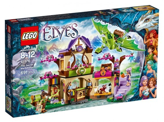 LEGO Elves Le marché secret