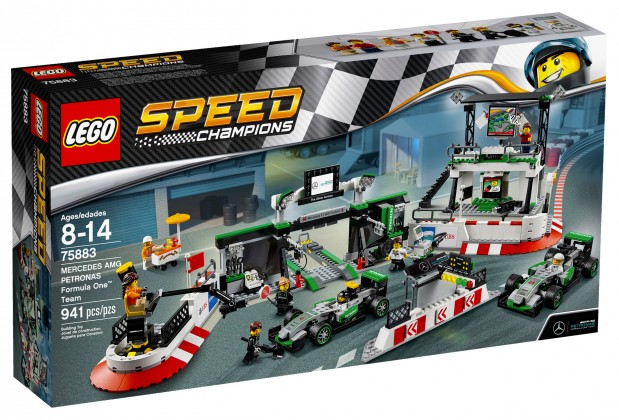 Nouveau LEGO Speed Champions 75883 Mercedes AMG Petronas Formula One Team 2017