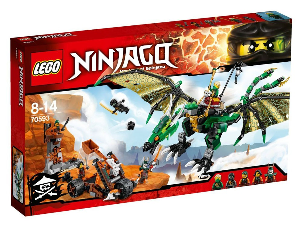 LEGO Ninjago 70593 - The Green NRG Dragon - Photo 1