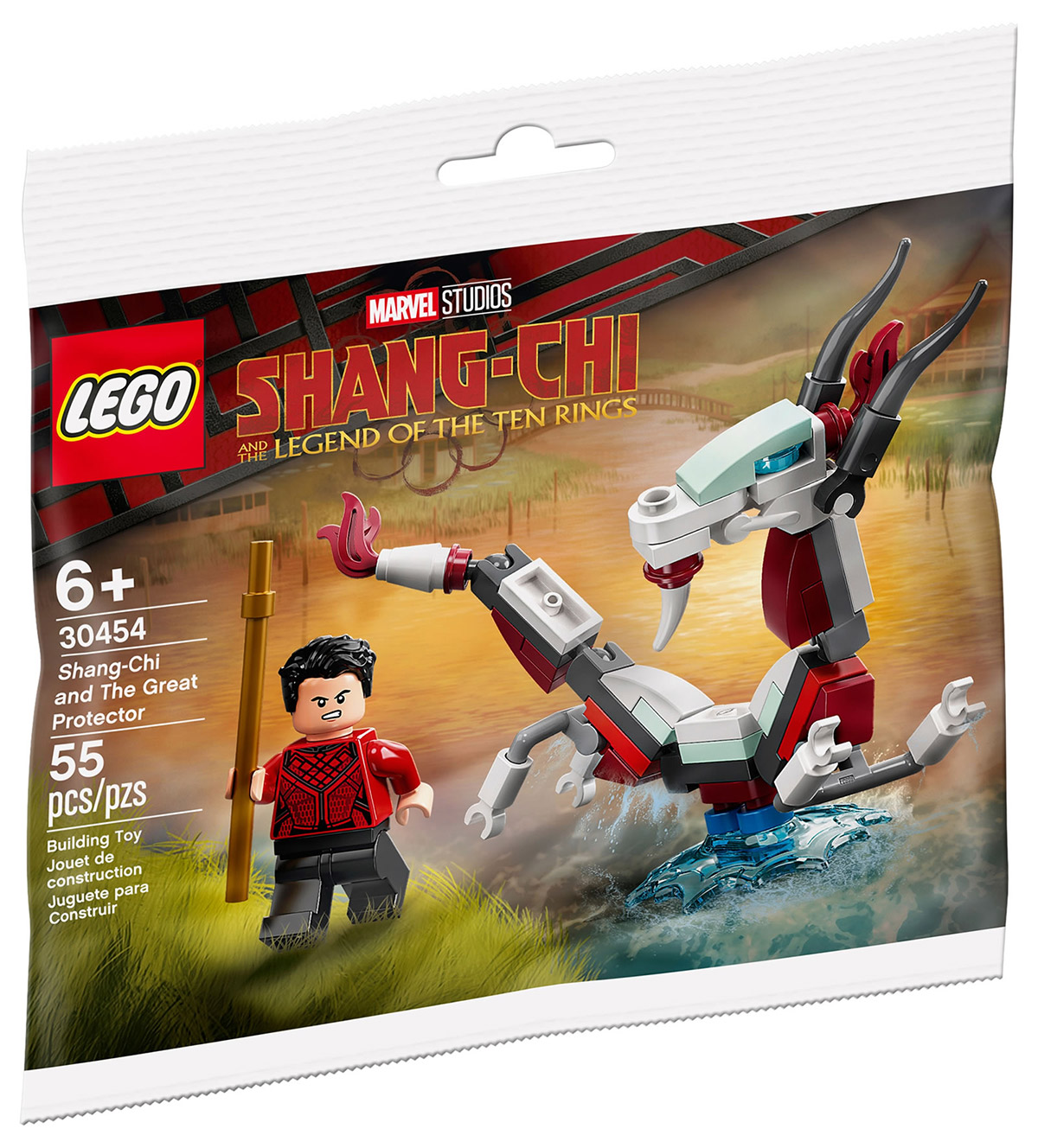 LEGO Marvel 30454 Shang-Chi et le Grand Protecteur (Polybag) // Août 2021