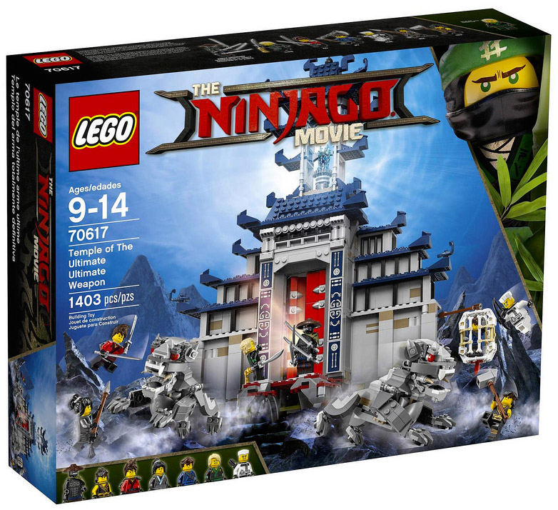 Nouveau LEGO The Ninjago Movie 70617 Temple of The Ultimate Ultimate Weapon