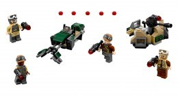 Nouveau LEGO Star Wars 75164 Rebel Trooper Battle Pack